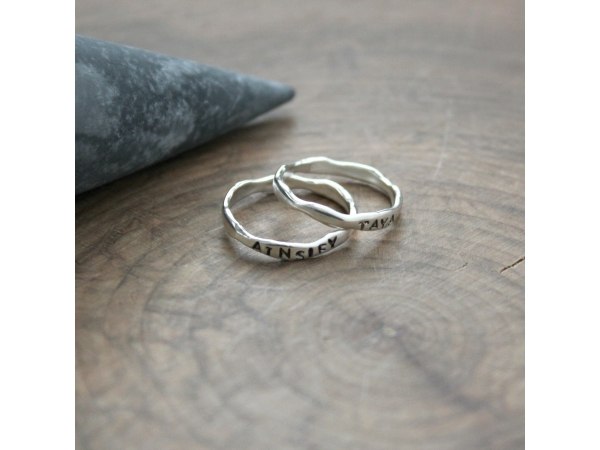 freeform stacking rings